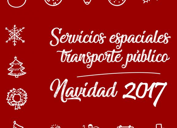 Transporte Público – Navidad 2017-2018