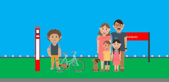 Viajar con mascotas o bicis en transporte público