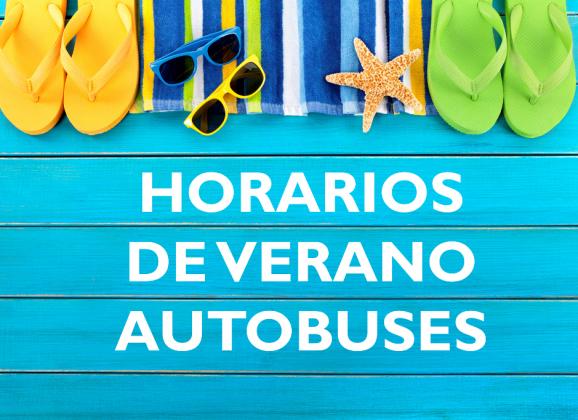 Horarios de autobuses Verano 2017