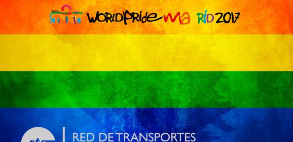 Refuerzos World Pride Madrid 2017