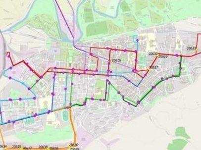 Nuevas líneas urbanas 1, 3 y 4 a partir del 15 de abril